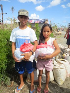Sponsored children in the Philippines NGO