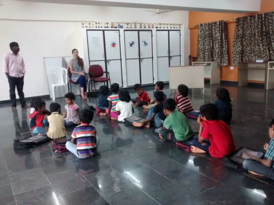 Reaching Hand Homeschool in Session in India