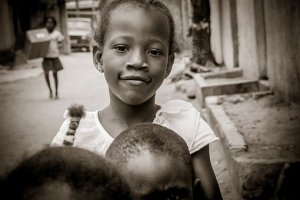 Child in need from Congo