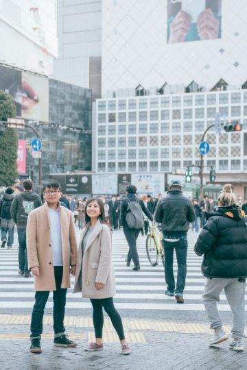vacation photographer in tokyo
