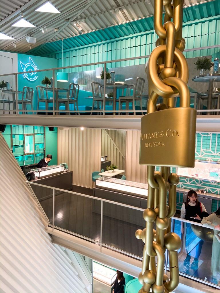 Tiffany Cafe Cat Street Interior