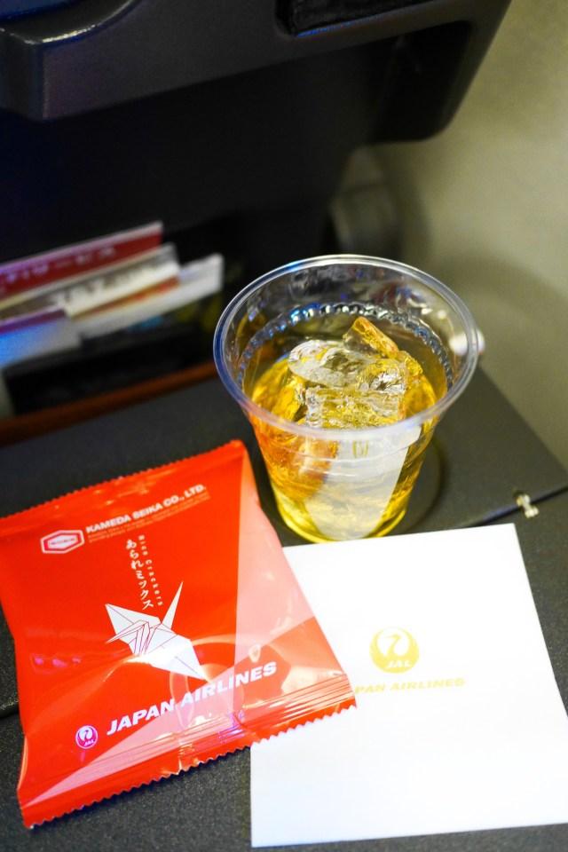 JAL Sky Time Drink