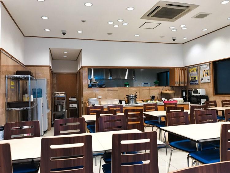 Toyoko Inn Tokyo Dining Area