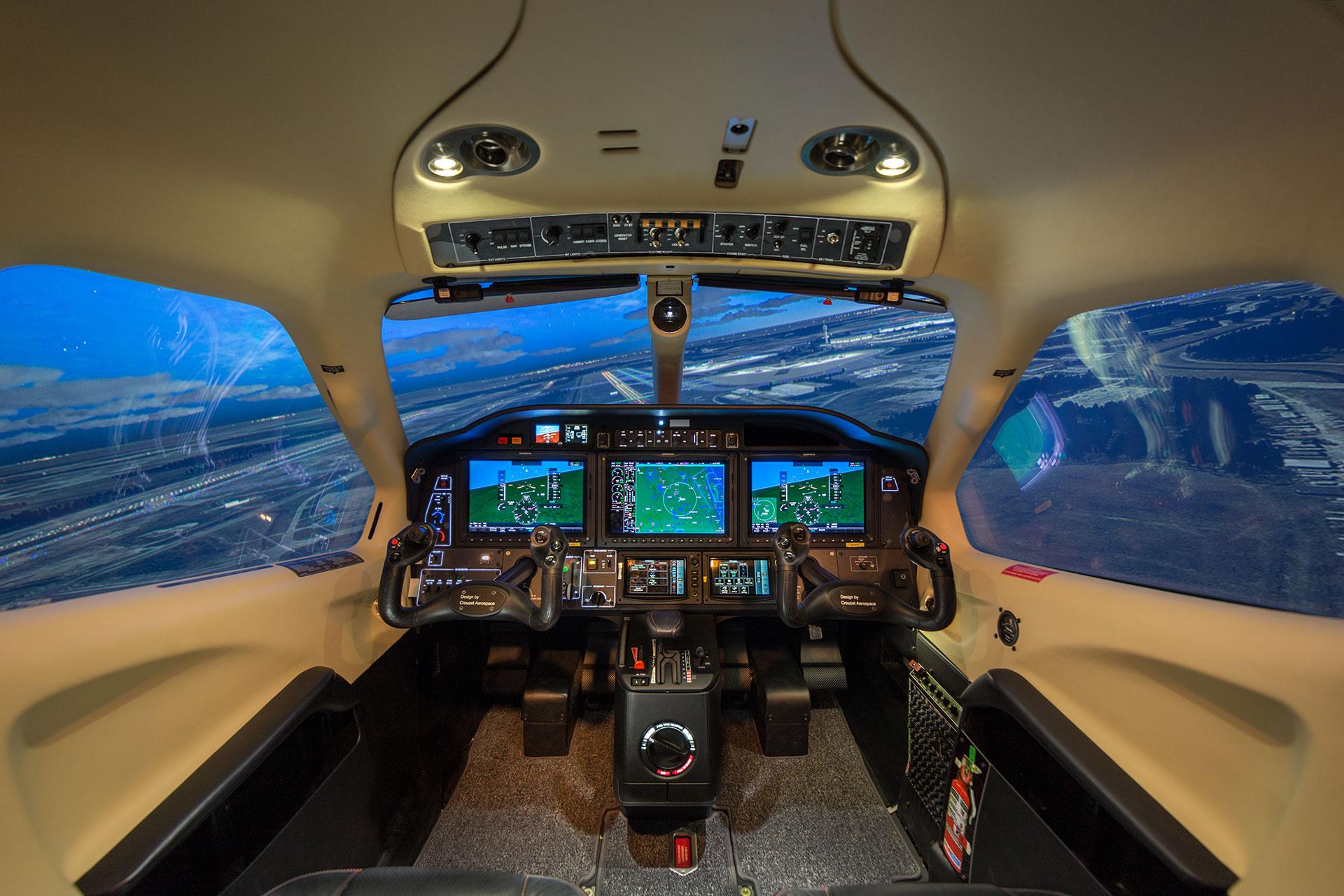 Cirrus Jet Interior