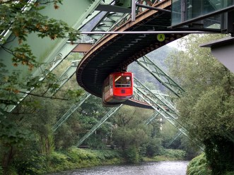 Elevated railway, Wuppertal, Germany