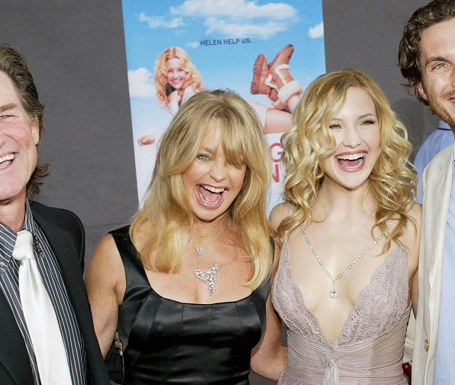 Kurt Russell Raised Oliver And Kate Hudson When Goldie Hawns Ex Left