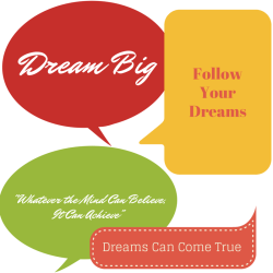 Dream Big Goal Setting Goals