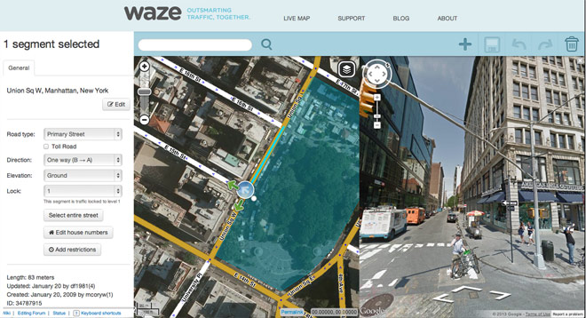 waze and google maps