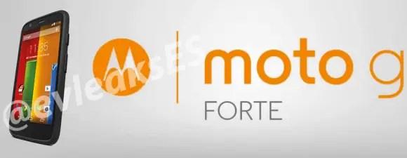 Images of the Moto G Forte Leak on Twitter