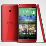 htc one e8 red all sides