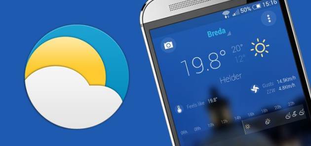 bright weather android app