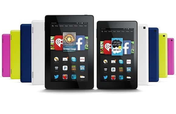 Amazon Indle Fire HD 6 and Fire HD 7