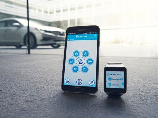 Hyundai Android Wear Device