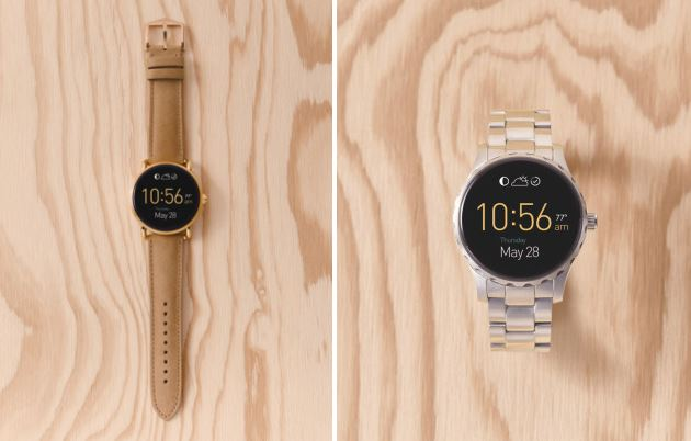 fossil android wear watches