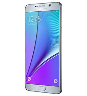 Galaxy Note 5 front