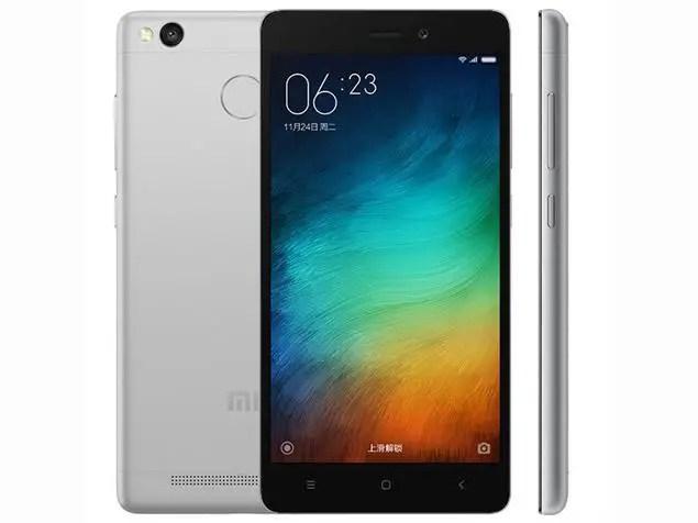 Xiaomi Redmi 3S Plus front backk side
