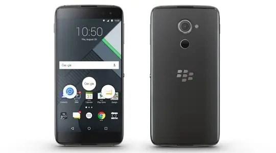 BlackBerry DTEK60 front and back