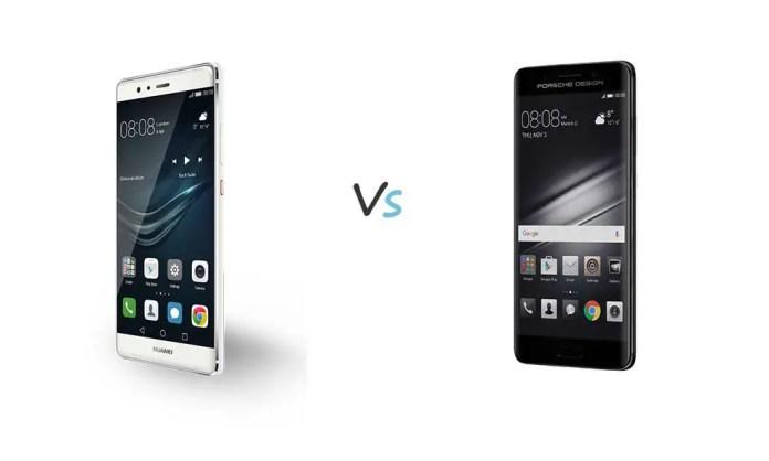 Huawei Mate 9 vs Huawei Mate 9 Porsche