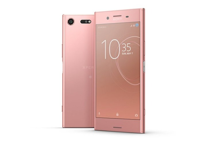 xperia xz premium pink