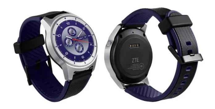 zte quartz smartwatch back
