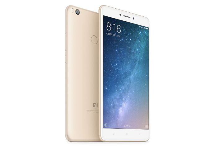 xiaomi mi max 2 front and back