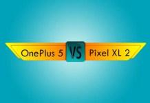 oneplus 5 vs pixel xl 2