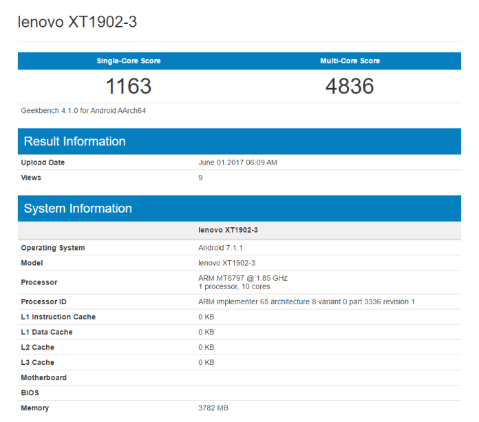 XT1902-3 likely to be Moto M2