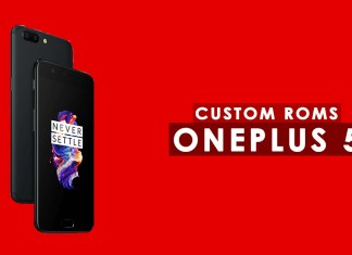 oneplus 5 custom roms