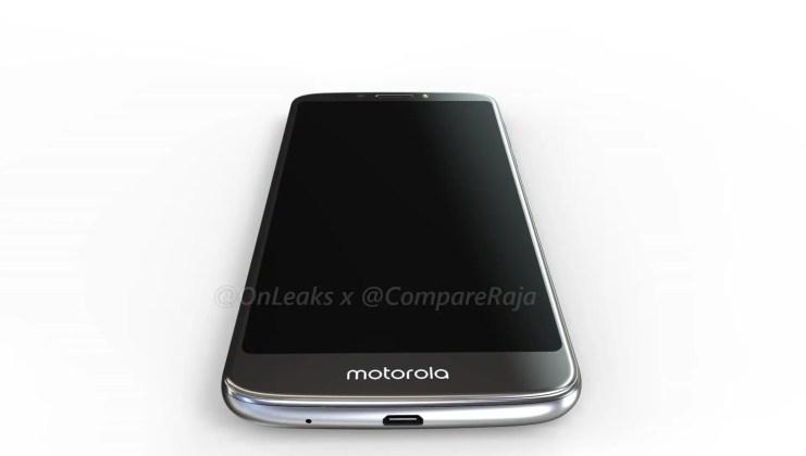 Moto G6 Play Leak Render 03
