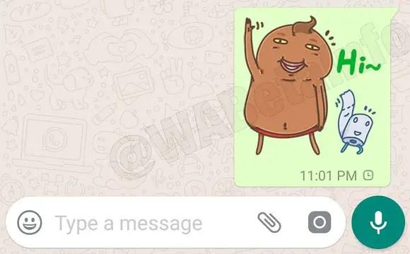 WhatsApp Sticker Chat