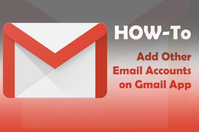 how to add another email accounts on gmail app
