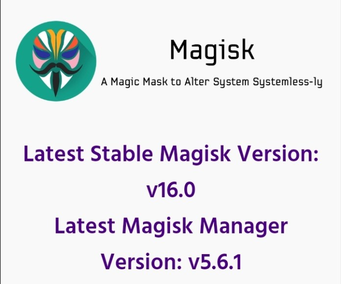 Latest Magisk 16.0