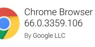 Google Chrome v66