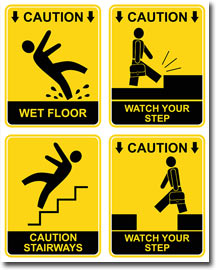 Image result for caution liability signs