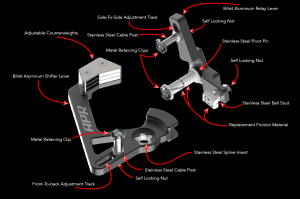 APR Adjustable Short Shifter