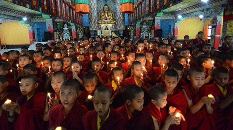 "People in Nepal praying for the speedy recovery of the nation from the disaster ""LETS ALL PRAY FOR THEM"""