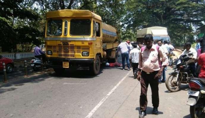 Road Acciedent in Panaji kills school teacher from Porvorim