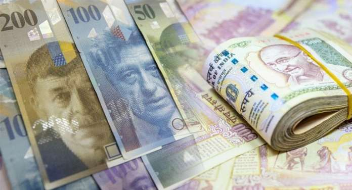 Indian money deposited Swiss banks dipping day report