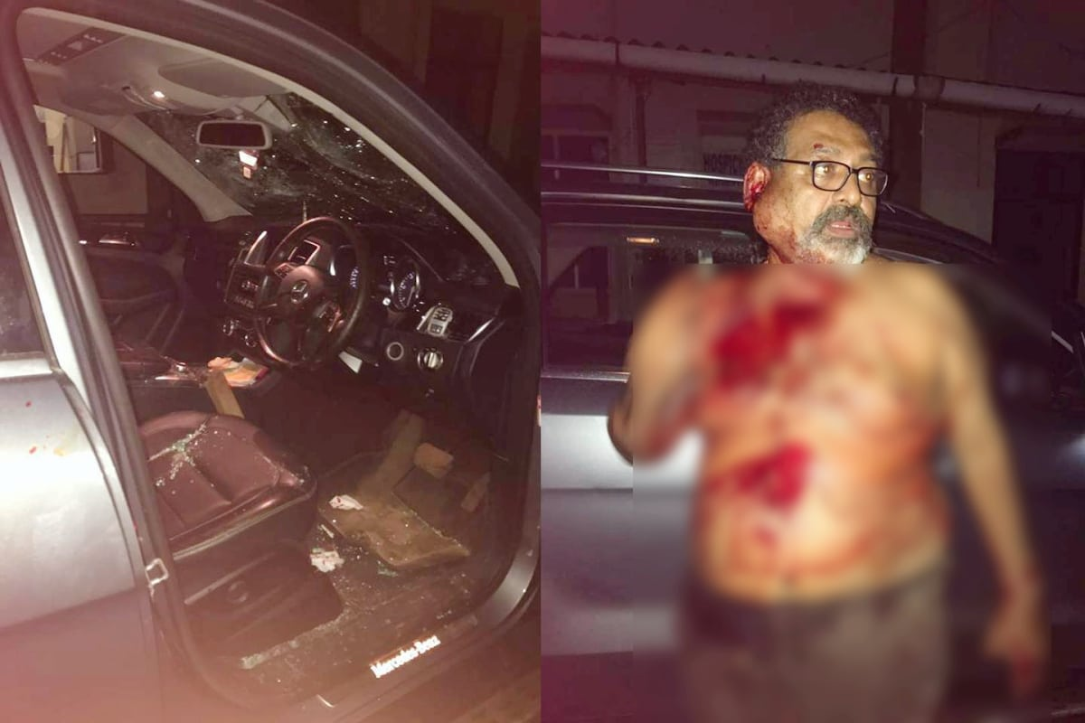 56-YEAR-OLD BUSINESSMEN ATTACKED GANG 11 IRON RODS