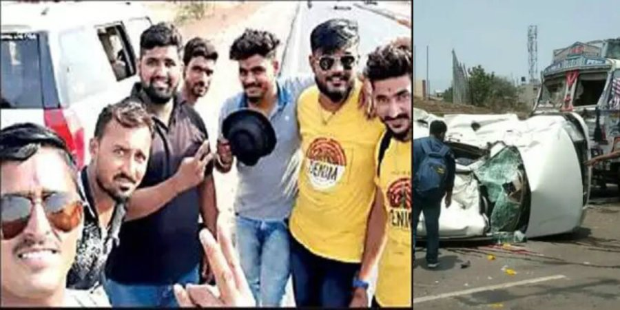 7 youths meet with a deadly accident in Belagavi
