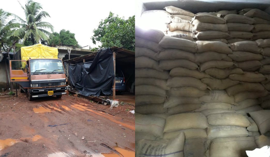 Smuggling of Food Grains from Goa to Maharashtra