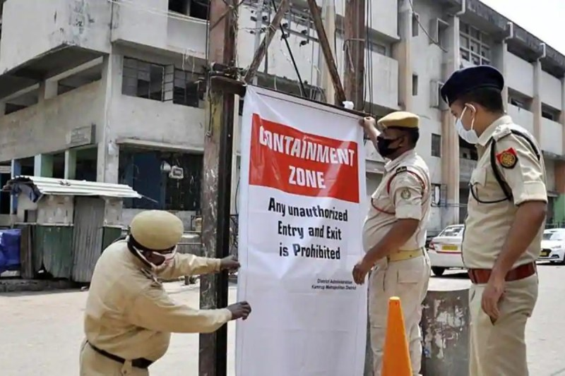 Containment Zone in Goa