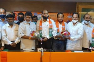 Roy Naik Inducted in BJP