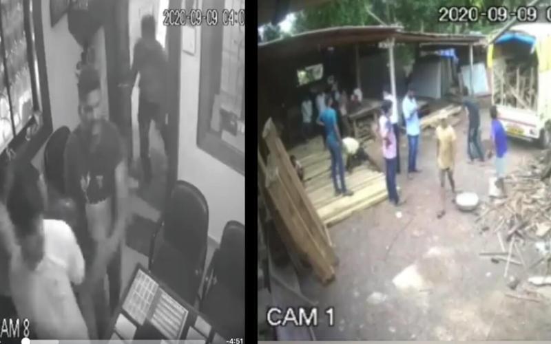 Anjuna Saw Mill Attack