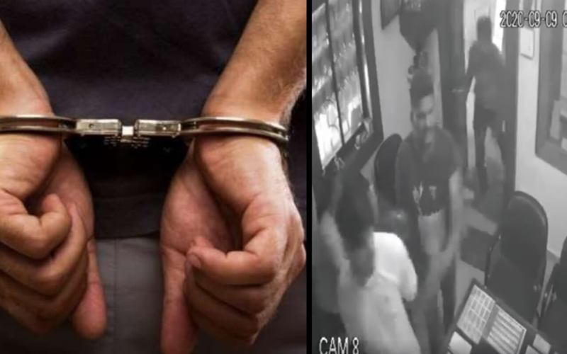 Nine Persons Arrested