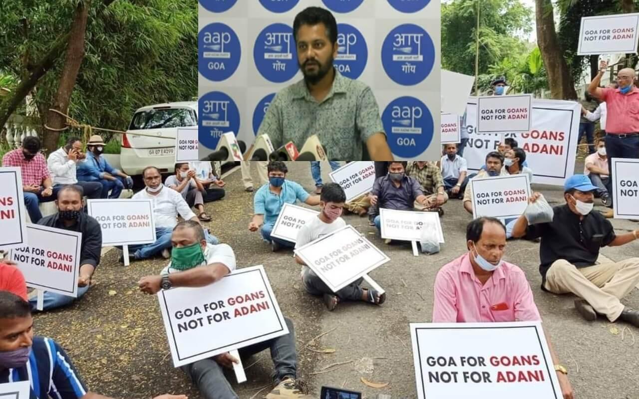 AAP Questions BJP