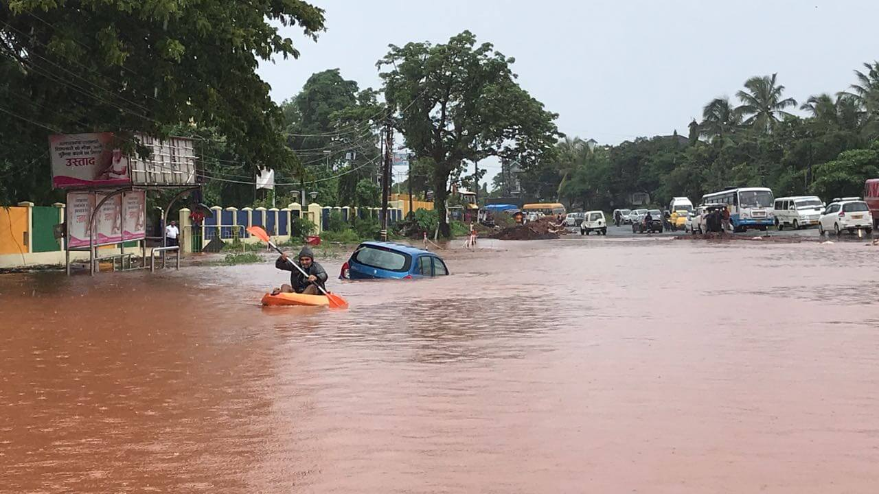 Major Flooding Warning For Goa