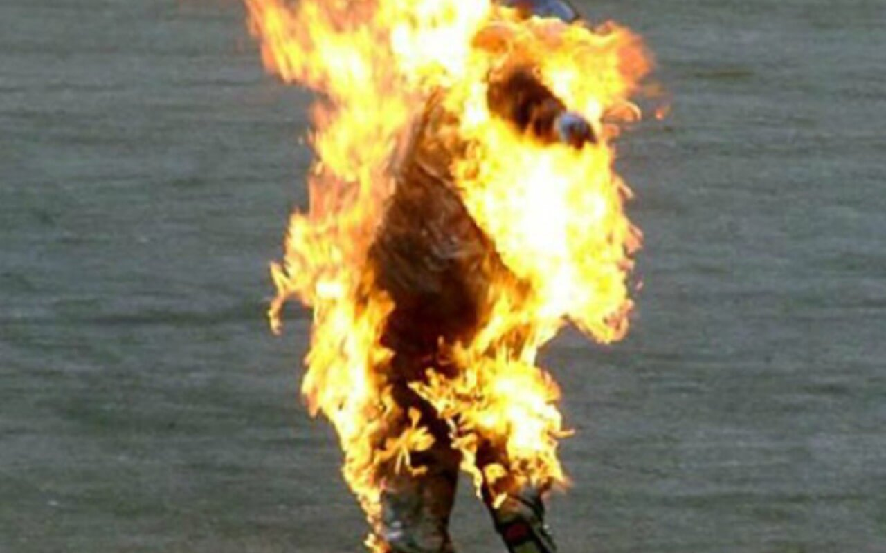 Man Set on Fire