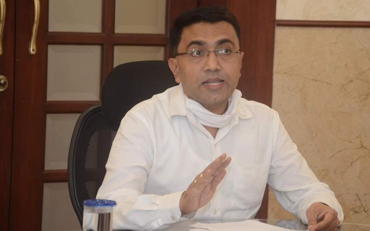 CM Dr Pramod Sawant