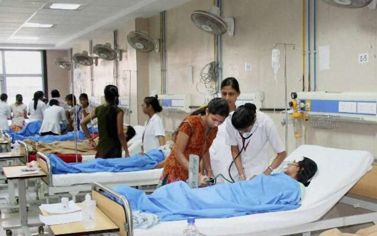 Hospitals Running Out of Bed